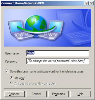 cara setting pptp vpn user password