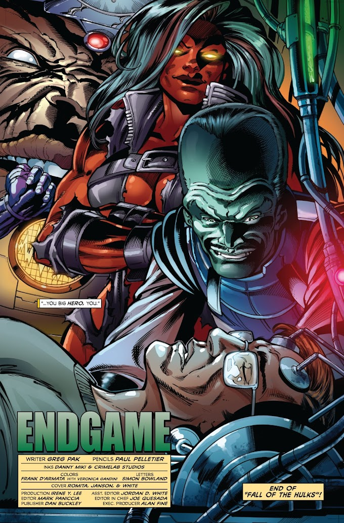 Countdown to Endgame Day 11: Hulking Out