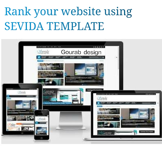 Sevida blogger template 2018