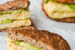 My Favoríte Keto Breakfast Sandwích