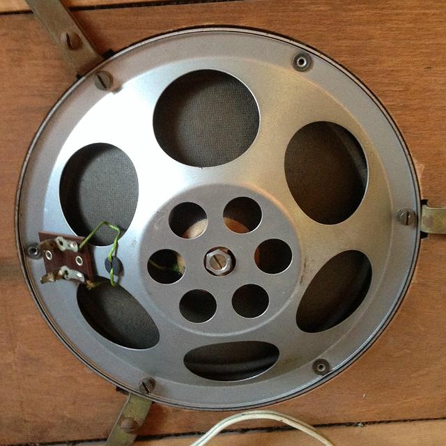 Telefunken hangszóró 1938 - 2 Watt 4 Ohm átmérő 170 milliméter