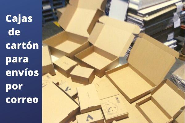 Cajas de carton para envios por correo