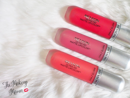 THE MAKEUP MAVEN - A BEAUTY BLOG BY SABS HERNANDEZ: Love is On with these new Revlon Ultra HD Matte Lipcolors!