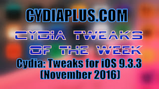 cydiatweaks Cydia: Tweaks for iOS 9.3.3 (November 2017) Technology