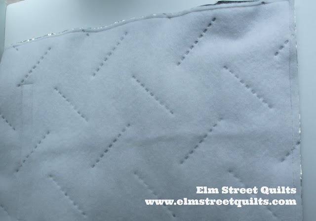 Elm Street Quilts Lunch Sack tutorial