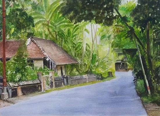Kokan House by Mrudula Bapat (www.indiaart.com)