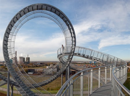Walkable Roller Coaster- tiger and turtle magic mountain ...
