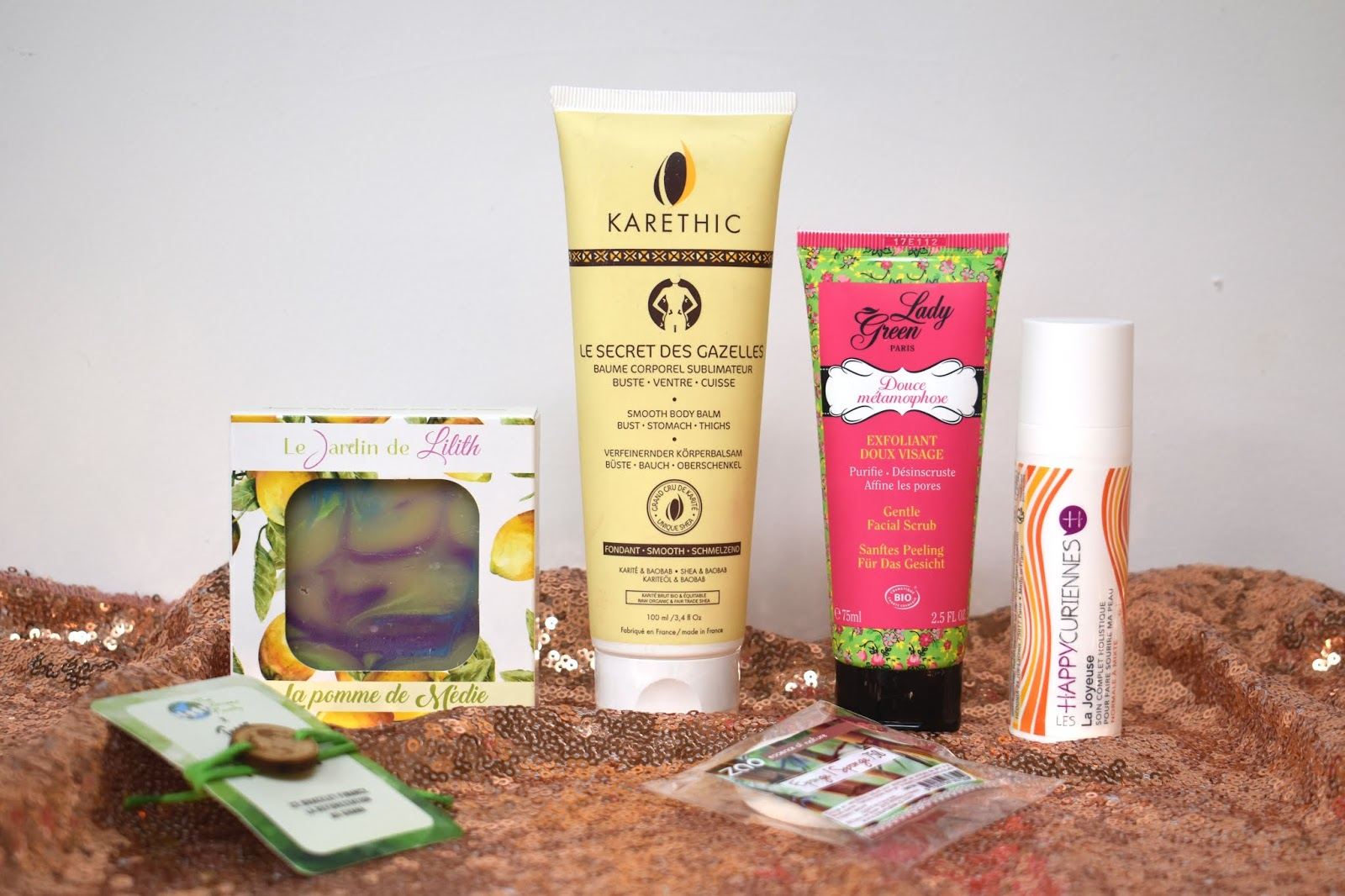 my musecatcher box beaute vegan the green family