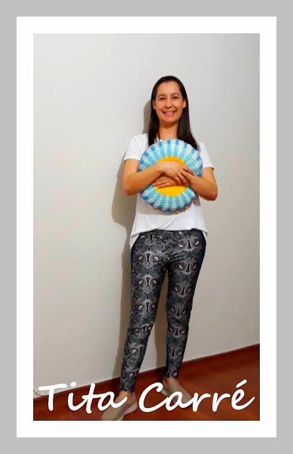 Almofada Mandala em crochet