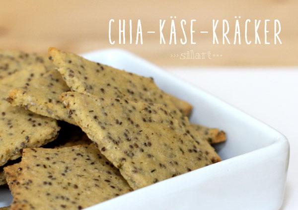 Chia-Käse-Kräcker