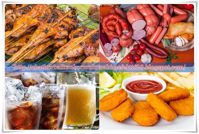 Pantangan Makanan Kanker Serviks