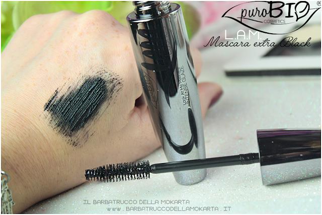 ultra balck mascara lam lashes purobio cosmeticspareri