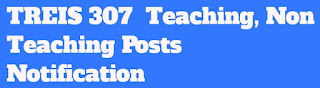 TREIS 307 Teaching, Non Teaching Posts Notification