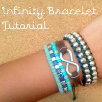 diy infinity bracelet, diy wrap bracelet, lauren banawa