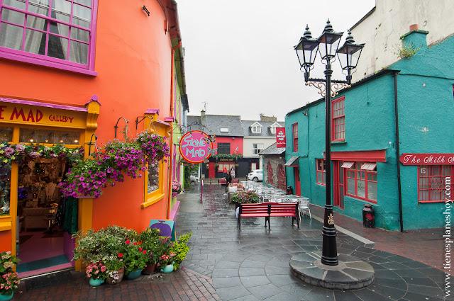 Kinsale Condado de Cork Irlanda casas colores