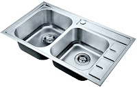 Germany Brilliant GBVGS4011 Top Table Stainless Steel Sink