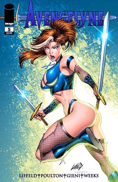 Avengelyne - Comic Book Cover