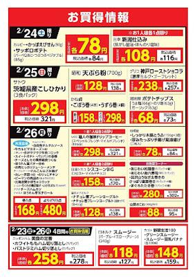 【PR】フードスクエア/越谷ツインシティ店のチラシお買得情報