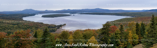 Height Of Land Rangeley Attractions Maine Lakes Mountains Natural Landscape