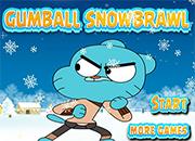 Gumball SnowBrawl Adventure