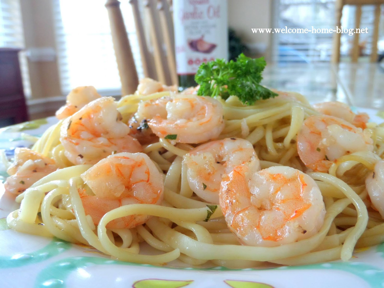 Welcome Home Blog Easy Shrimp Scampi With Pasta
