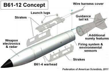 Escalada nuclear en Europa: EEUU ensaya bombas de potencia reducida