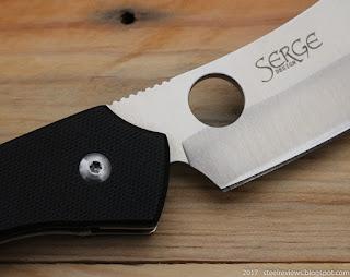 Spyderco C177GP ROC cleaver copy