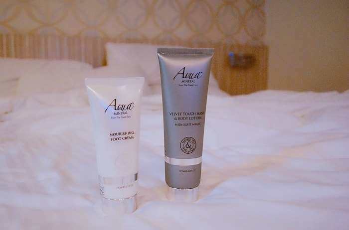 Luxurious Bedtime Moments with Aqua Mineral Review