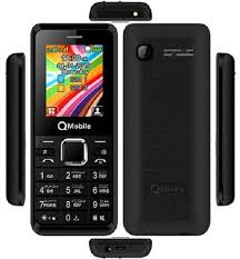 QMobile Feature Phone L1 Classic Dual Sim Box Pack