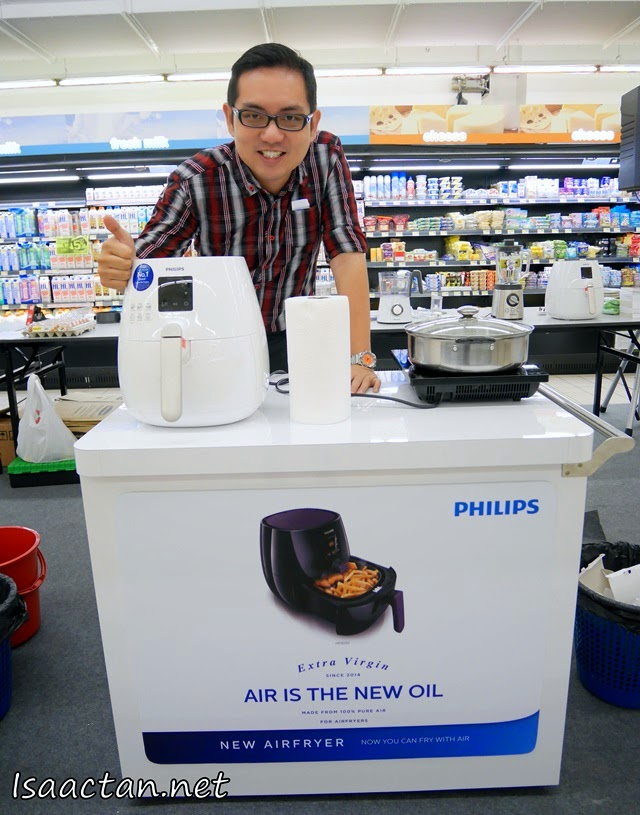 Introducing the Philip Viva Collection Digital AirFryer which we used during the competition