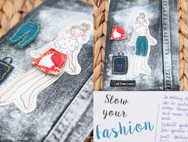 stitchydoo: Stoffkartentausch 2016 - Jeanskarte von Anne (Cut.Sew.Love.)