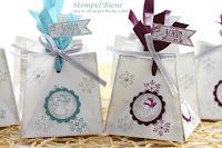 Bastelanleitung für eine schnelle Geschenkbox, Stampin Up teamtreffen, Geschenkschbox Hochzeiten, Gifeaway Hochzeit, Stampin Up Bestellen