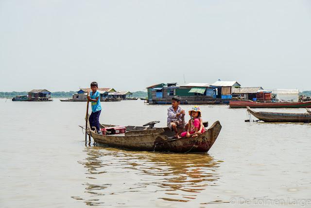 Tonle Sap - Cambodge