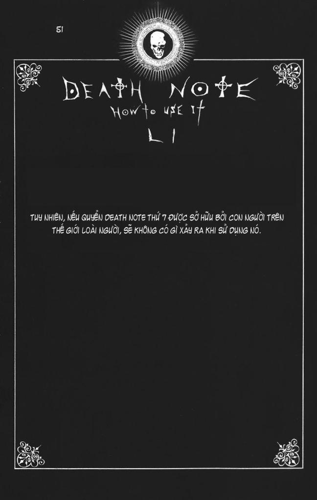 Death Note chapter 110 - how to use trang 54