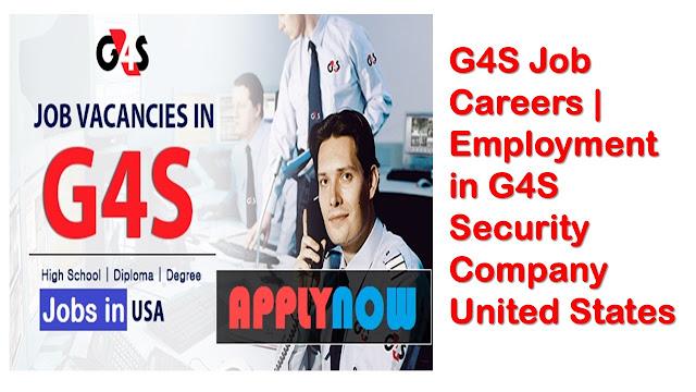 g4s new job 2018
