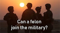 Can a Felon Join the Military