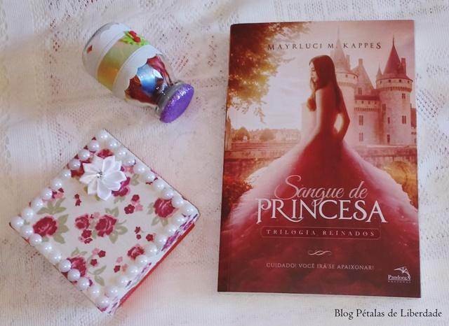 Resenha, livro, Sangue de princesa, Mayrluci M. Kappes, Pandorga, fotos, capa, diagramação, trecho, opiniao, critica
