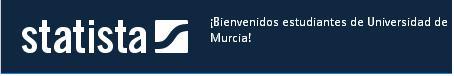 El Portal Statista da la bienvenida a los usuarios de la UM.