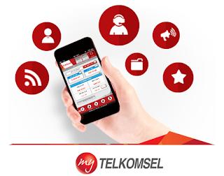 My Telkomsel, cek kuota paket internet, telkomsel, isi ulang pulsa, beli paket, sms, mms, paket nelpon, transfer pulsa, promo, multi sim