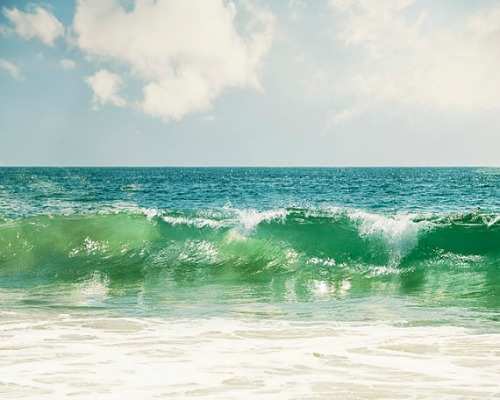Turquoise Ocean Photograph