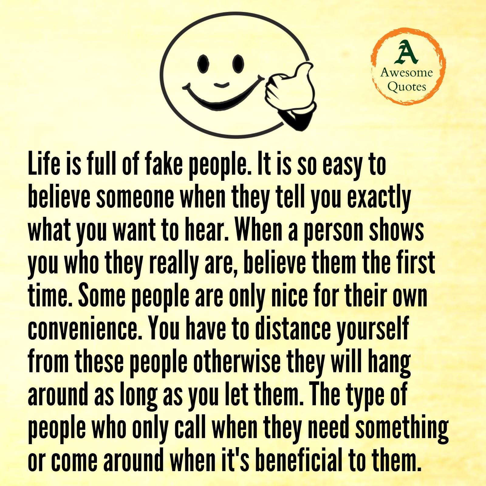 Life Is Full Of Fake People Quotes Guidomeyer