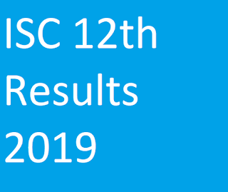 ISC 12th Results 2019