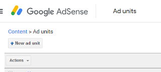 Adsense ads units