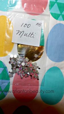 Swarovski Nail Art Crystals from Etsy