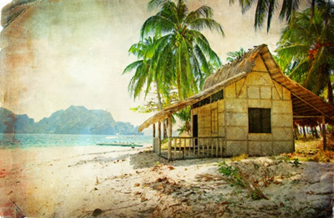 Tropical Beach Huts: Tropical Beach Huts Desktop Background (650 X 425 )