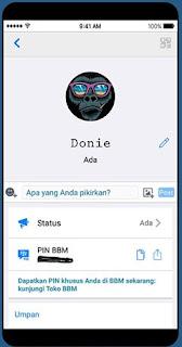 BBM Like iOS V3.3.4.48 Apk