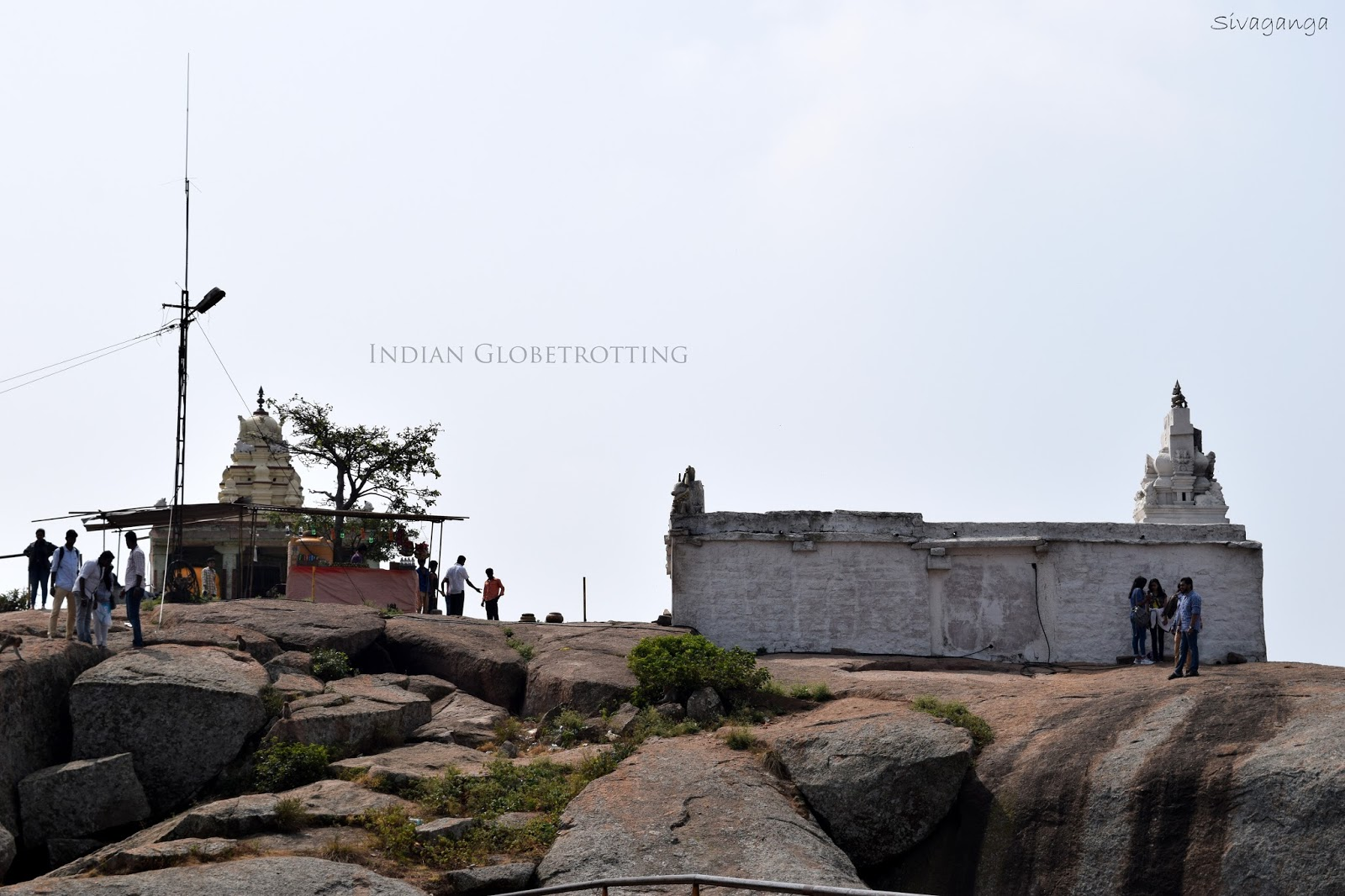Temple on top of Shivaganga Hill