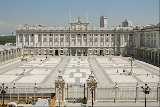 The Palacio Real de Madrid