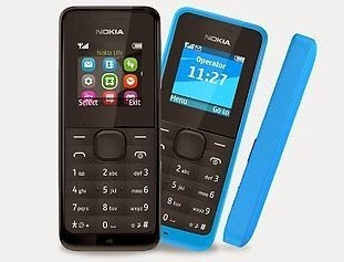 Nokia 105 Mobile for Rs.949 Only at Rediff