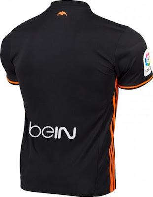 Adidas Valencia 16-17 Away Shirt - Solar Orange, Black